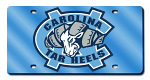 North Carolina Tar Heels License Plates