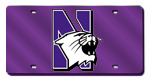 Northwestern Wildcats License Plates
