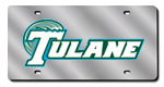 Tulane Green Wave License Plates