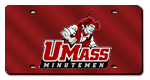 UMass Minutemen License Plates