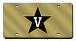 Vanderbilt Commodores License Plates