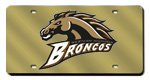 Western Michigan Broncos License Plates