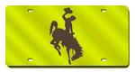 Wyoming Cowboys License Plates
