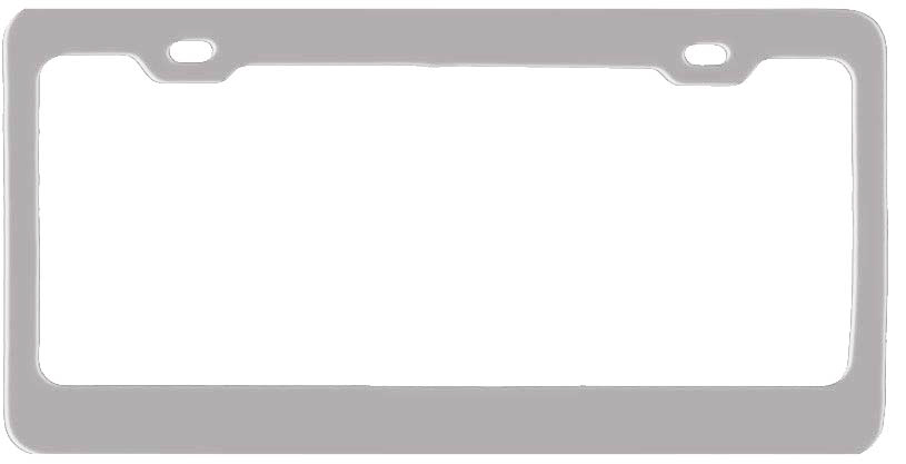 Personalized Custom Laser Engraved Anodized License Plate Frame by ...