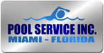 Pool Service Inc. laser plate
