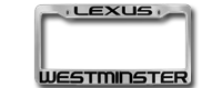 Plasti-Chrome License Frames