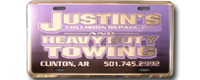 Embossed Aluminum Deluxe License Plates