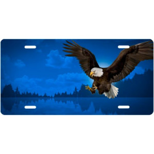 Bald Eagle Attack License Plate