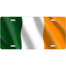Flag of Ireland License Plate