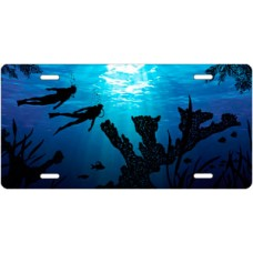 Coral Divers License Plate