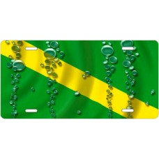 Nitrox Dive Flag License Plate
