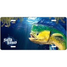 Salty Bones Mahi License Plate