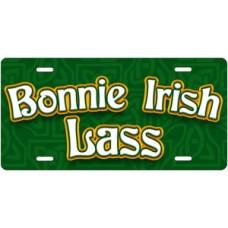 Bonnie Irish Lass License Plate