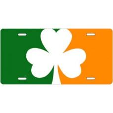 Ireland Clover License Plate
