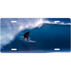 Surfing License Plate