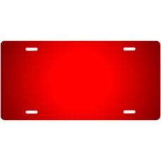 Red Ringer License Plate