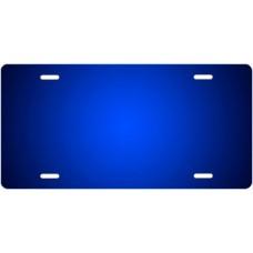 Blue Ringer License Plate