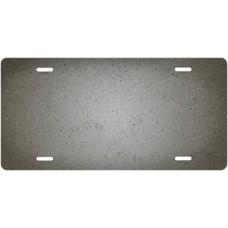 Speckled Gray Ringer License Plate