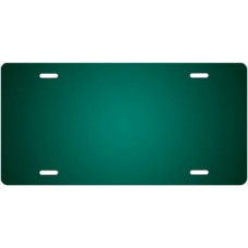 Green Ringer License Plate