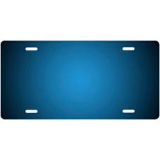 Dark Blue Ringer License Plate