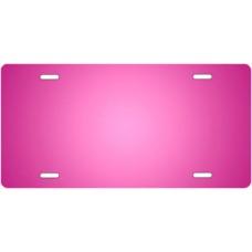 Pink Ringer License Plate