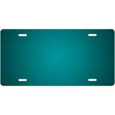 Teal Ringer License Plate