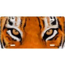 Tiger Eyes License Plate