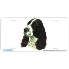 English Springer Spaniel Airbrushed License Plate