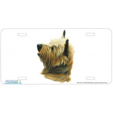 Cairn Terrier Airbrushed License Plate