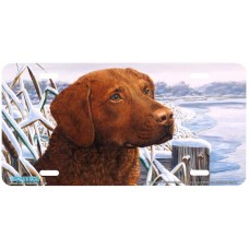 Bay Buddy Airbrushed License Plate