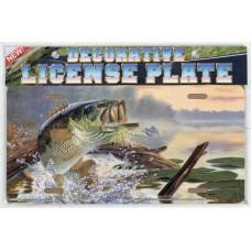 """""""Buzz Off"""" Bass License Plate"""