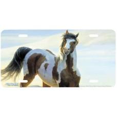 """Audacious"" Horse License Plate"