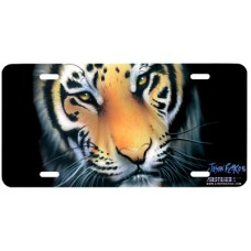 Bengal Tiger Airbrushed License Plate