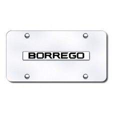Kia Borrego Chrome on Chrome License Plate