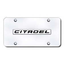 Dodge Durango Citadel Chrome on Chrome License Plate
