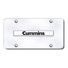 Toyota Cummins Chrome on Chrome License Plate