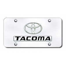 Toyota Tacoma Chrome on Chrome License Plate
