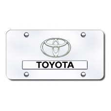 Toyota Chrome on Chrome License Plate