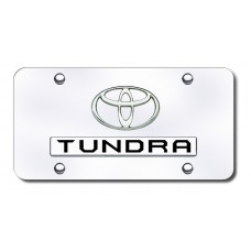 Toyota Tundra Chrome on Chrome License Plate