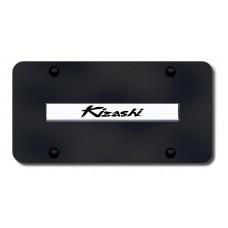Suzuki Kizashi Chrome on Black License Plate