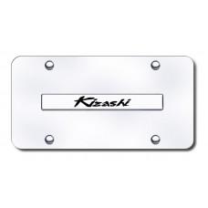 Suzuki Kizashi Chrome on Chrome License Plate