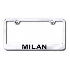 Mercury Milan Chrome Laser Etched License Plate Frame