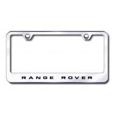 Range Rover Chrome Laser Etched License Plate Frame