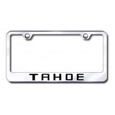 Chevrolet Tahoe Chrome Laser Etched License Plate Frame
