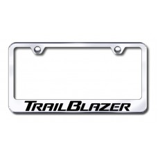 Chevrolet TrailBlazer Chrome Laser Etched License Plate Frame