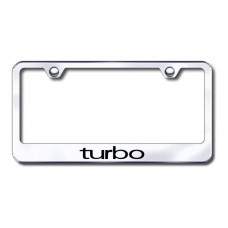 Lincoln Town Car Chrome Laser Etched License Plate Frame