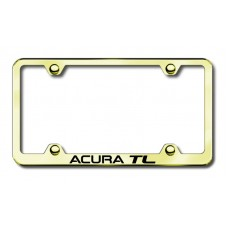 Acura TL Gold Laser Etched License Plate Frame