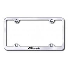 Suzuki Kizashi Chrome Laser Etched License Plate Frame