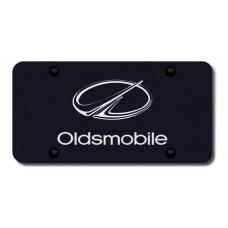 Oldsmobile Laser Etched Black License Plate