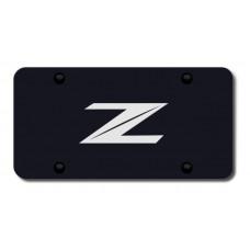 Nissan Z Laser Etched Black License Plate